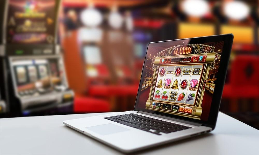 speel casino op laptop